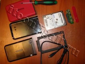 История про внешний HDD