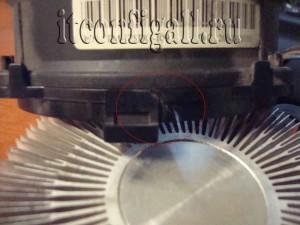 Сломалась пластмастка на кулере LGA сокета